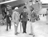 Rajah arrives in London by air - 22-July-1931