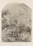 Drawing by Gaspar Poussin: Rees' Cyclopaedia