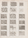 Military and Naval Flags, Standards: Rees' Cyclopaedia
