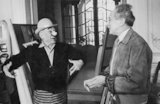 Pablo Picasso and Jean Cocteau