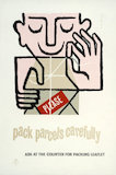 Please pack parcels carefully - 1955