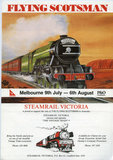 Poster Flying Scotsman, Melbourne 9th July - 6th August