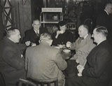 MP's Try Railway Tea at Euston