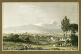 View of Manchester, 1834