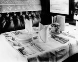 GER First Class dining car, 1912.