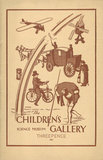 Cover of the Science Museum Children's Gallery guide of 1938