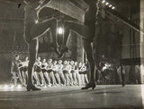 Rehearsal of Streamline at the Palace Theatre some of Cochrans beauty chorus rehearsing 13th August 1934