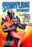 Startling Stories: Robot Seizes Woman
