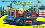 Battery Operated Tractor 1950