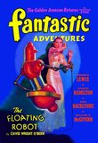 Fantastic Adventures: Floating Robot and Woman