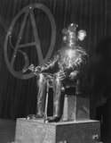 The £6000.00 robot, built by Harry May over 14 years. 1932