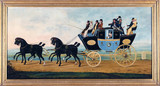 'The London to Birmingham Stage Coach', 1801.
