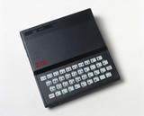 Sinclair ZX 81 microcomputer, c 1984.