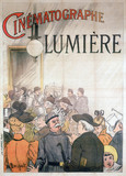 Lumiere Cinematographe, c 1900.