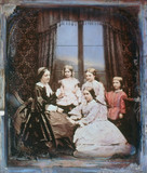 A family group, c 1845.