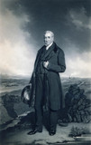 George Stephenson, English railway engineer, c 1830s.
