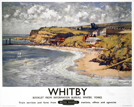'Whitby', BR poster, 1948-1965.