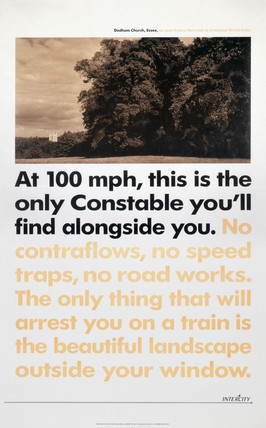 Intercity - At 100 mph this is the only Constable you'll find alongide you, 1990.