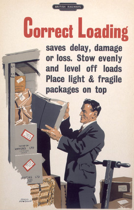 'Correct Loading', BR poster, 1947-1951.