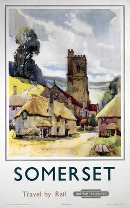 'Somerset', BR (WR) poster, 1960.