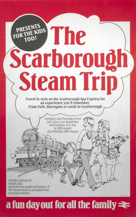 The Scarborough Steam Trip, 1983.