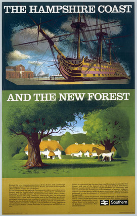 'The Hampshire Coast and the New Forest' by
