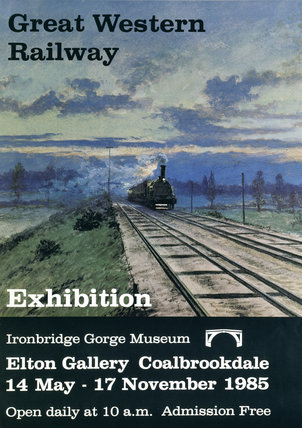 'Great Western Railway Exhibition', IGM poster, 1985.