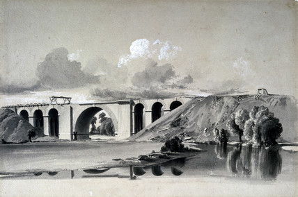 Sherbourne Viaduct, near Coventry, 27 July 1837.