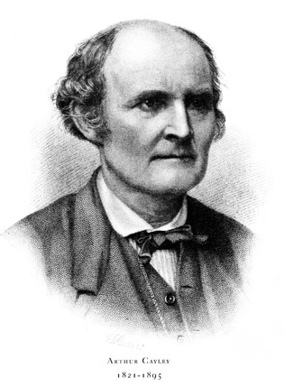 Sir Arthur Cayley, English mathematician, 19th century.