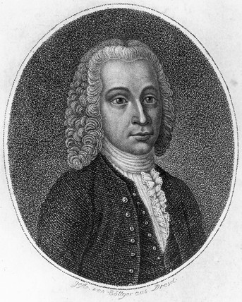 Anders Celsius, Swedish astronomer and physicist, c 1730s.