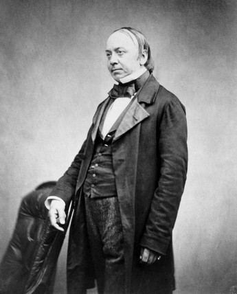 Sir Edwin Chadwick, English physician and social reformer, 1854-1866.