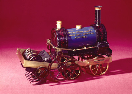 Usher's steam plough, 1849.