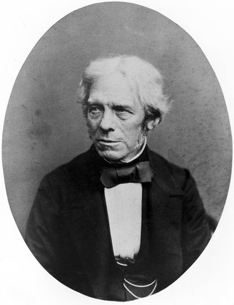 Michael Faraday, English physicist, 1850.