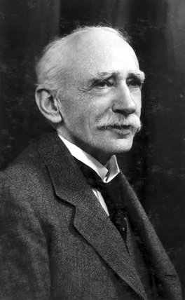 Sir John Ambrose Fleming, English physicist and electrical engineer, 1934.