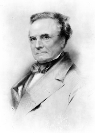Charles Babbage, British mathematician and computing pioneer, 1874.