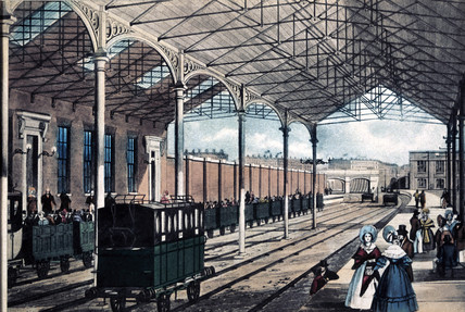 Euston Station, London, 1837.