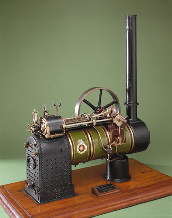 Overtype atmospheric engine, 19th century.