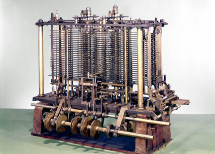 Charles Babbage's Analytical Engine, 1871.