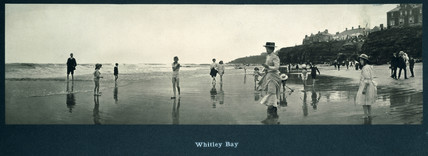 'Whitley Bay', NER carriage print c 1910.