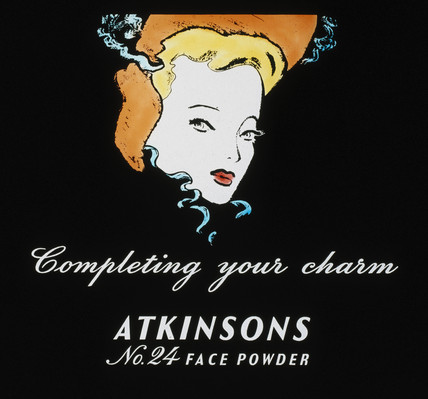'Completing your charm', face powder advertisement, 1930-1940.