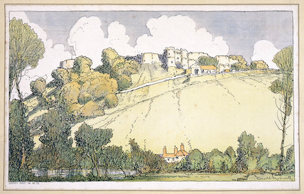Carisbrooke Castle, Isle of Wight. Southern