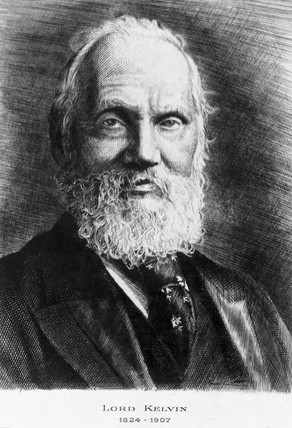 Lord Kelvin, Scottish engineer, physicist and mathematician, c 1900.