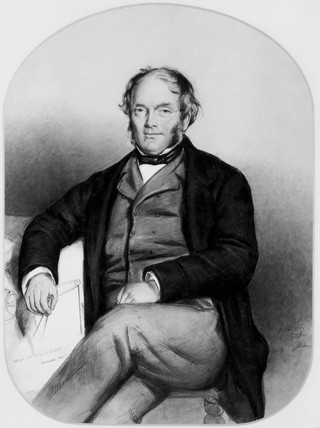 Michael Loam, English engineer and inventor, 1853.