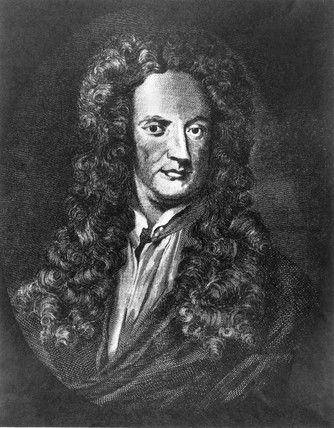 Sir Isaac Newton, English mathematician and physicist, c 1710.