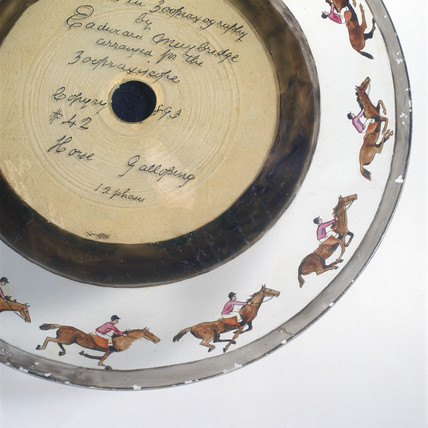 Galloping horses, Zoopraxiscope disc no 42, 1893.