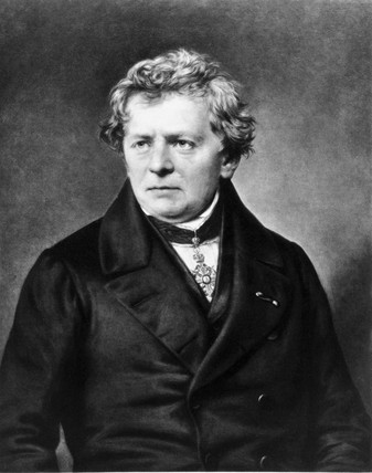 Georg Simon Ohm, German physicist, c 1830-1839.