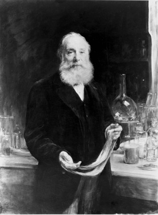 Sir William Henry Perkin, English chemist, c 1905.