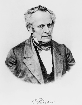 Julius Plucker, German mathematician and physicist, mid 19th century.