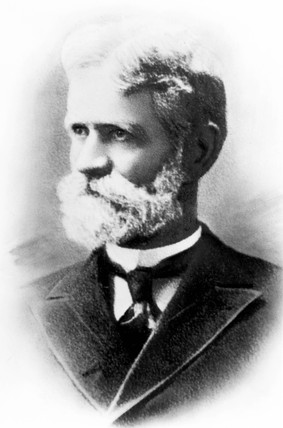 Almon Brown Strowger, American telecommunications inventor, c 1885.