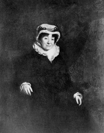 Mrs James Watt, wife of James Watt, late 18th century.